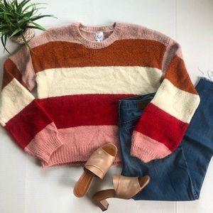 Freshman 1996 Striped Sweater